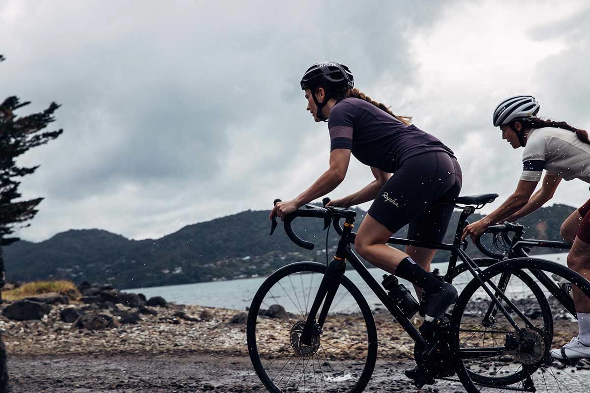 rapha classic jerseys road cycling womens short sleeve recycled fabric merino wool