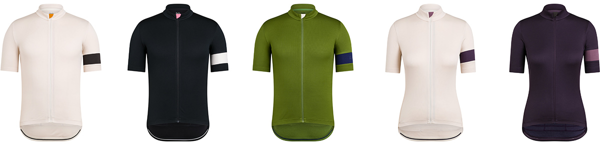 rapha classic road kit mens womens jersys short sleeve recycled polyester merino wool