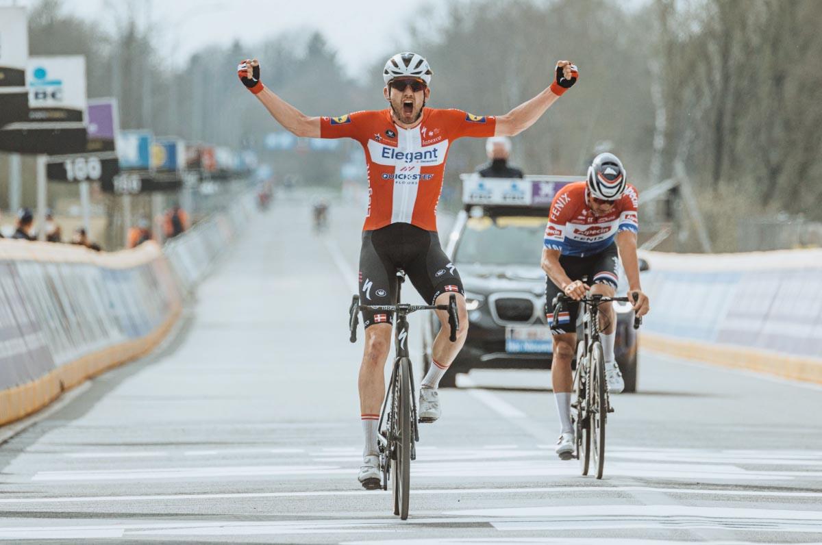 Specialized Clincher win Kasper Asgreen Tour of Flanders