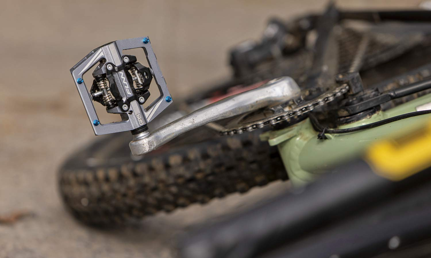 Funn Mamba S lighter combo clipless platform clipless all-mountain bike pedals, ride photos by Jacob Gibbins Openwide Agency