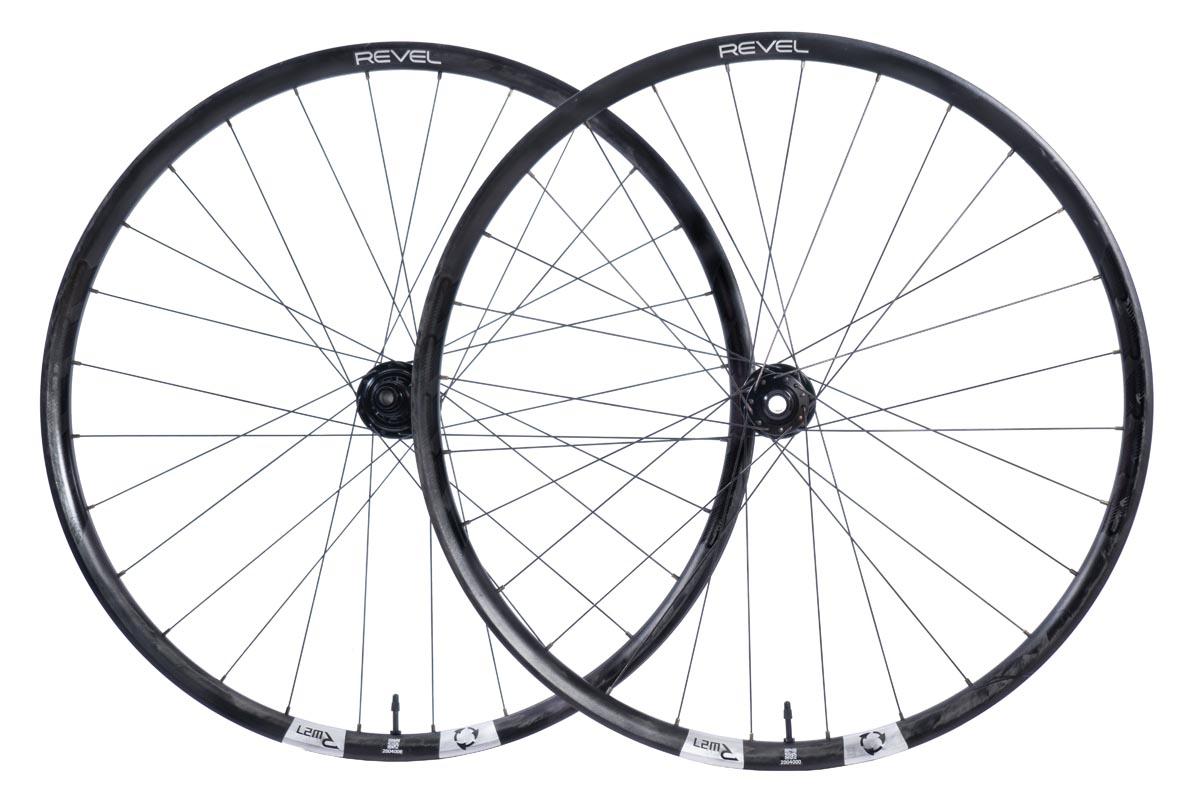 Revel Wheels RW27 MTB wheelset side profile