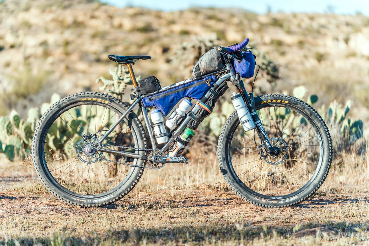 Why Cycles el Jefe loaded for bikepacking