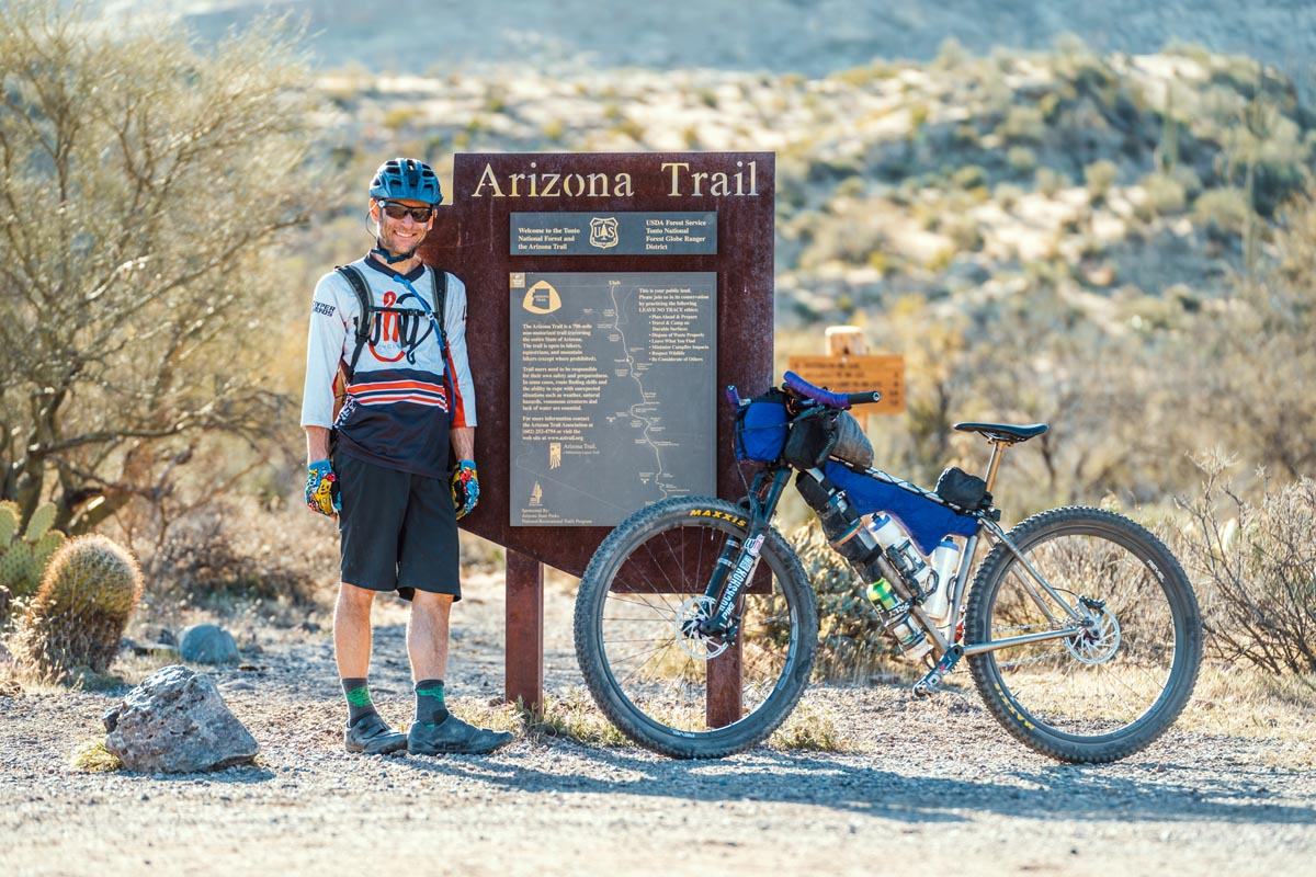 Why Cycles el Jefe on the Arizona Trail