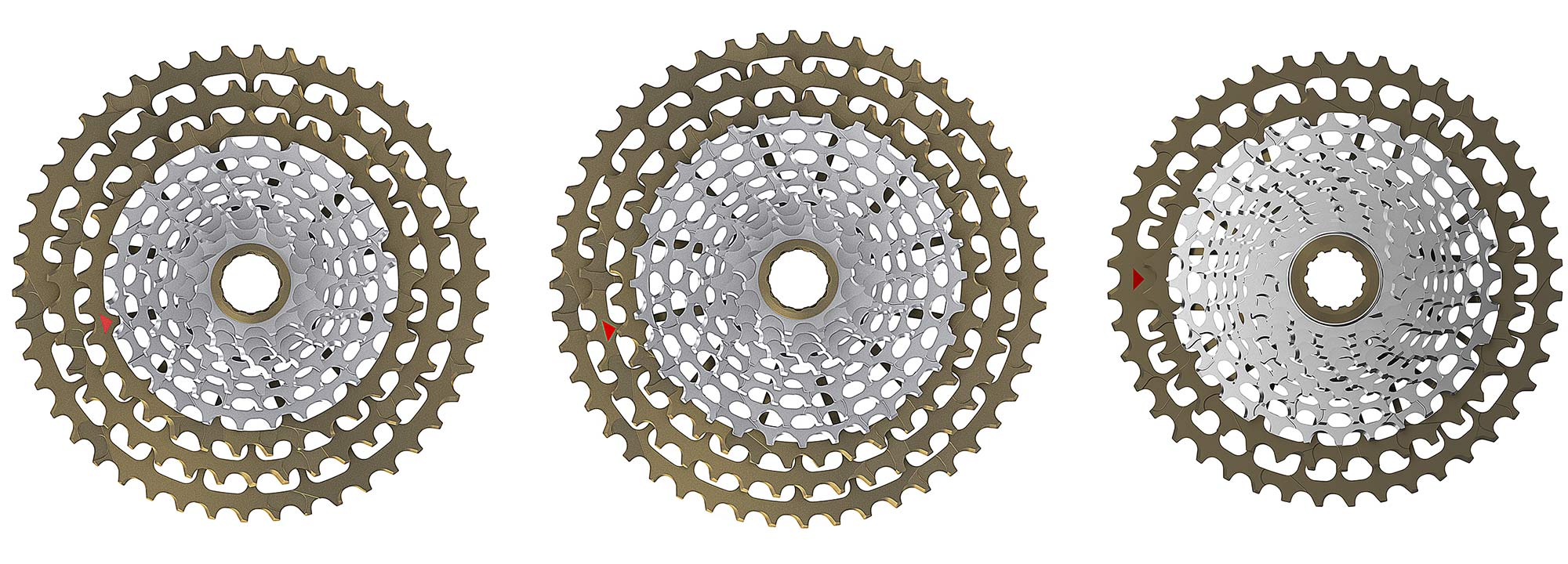 Ingrid Gran Turismo R 1x 11 12-speed road bike drivetrain, made-in-Italy, cassettes