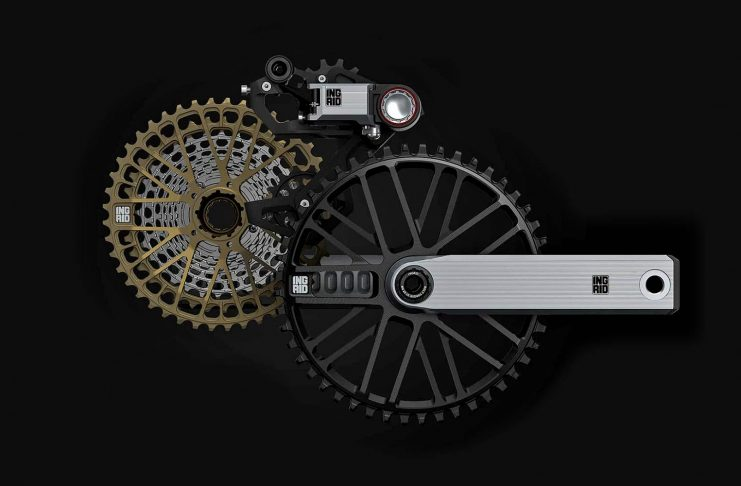Ingrid Gran Turismo R 1x 11 12-speed road bike drivetrain