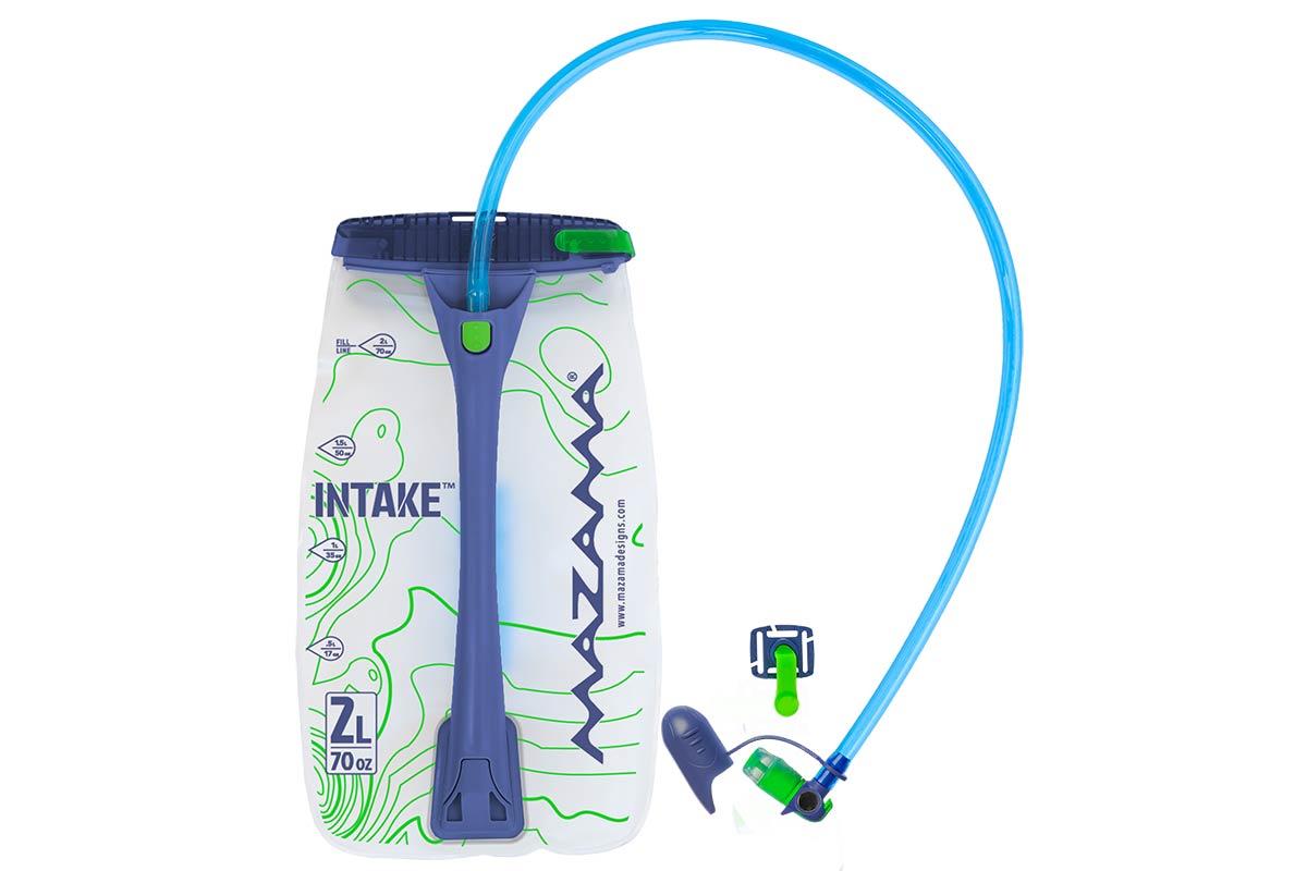 mazama intake 2l hydration bladder taste-free easy refill