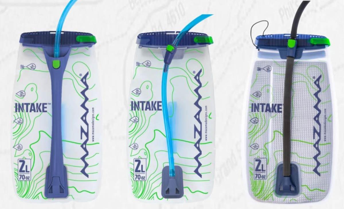 mazama designs intake hydration bladders 2l 3l insulated