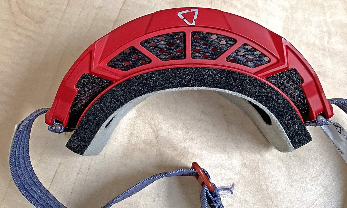 Leatt Velocity 4.0 MTB lighter, vented mountain bike goggles, vented top