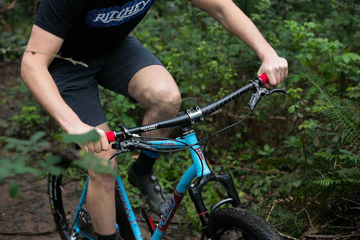 ritchey carbon bar mtb trail riding