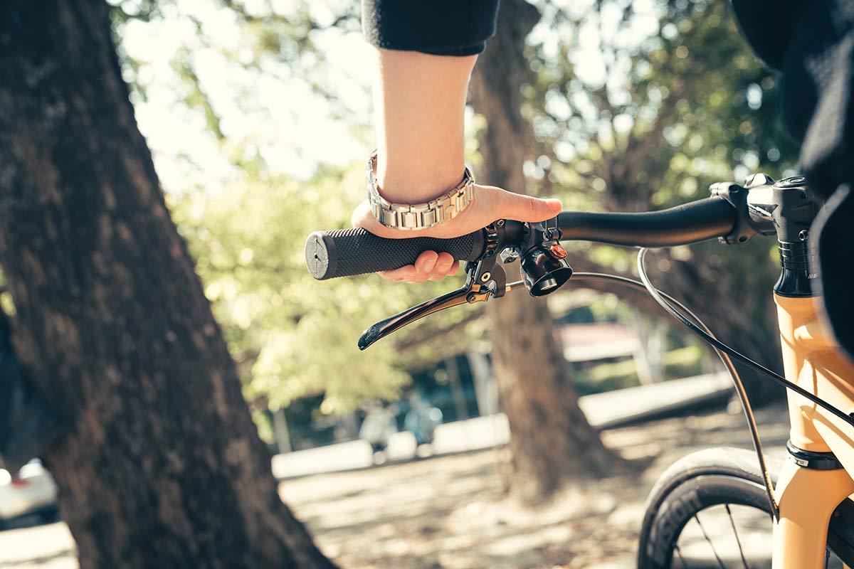 granite design cricket bell under bar bike bell