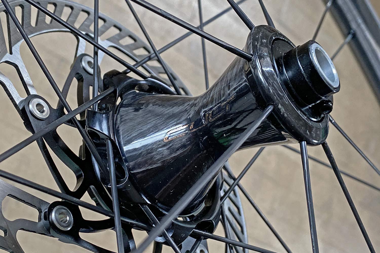 Review: new 2021 Campagnolo Bora Ultra WTO 45 aero carbon disc brake road bike wheels, front carbon hub