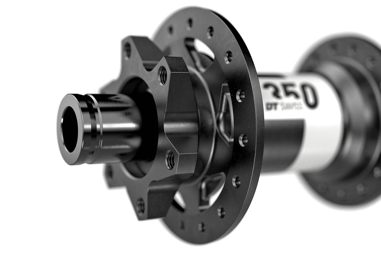 New DT Swiss 350 MTB hubs, lighter faster still affordable 36T Star Ratchet,new end caps
