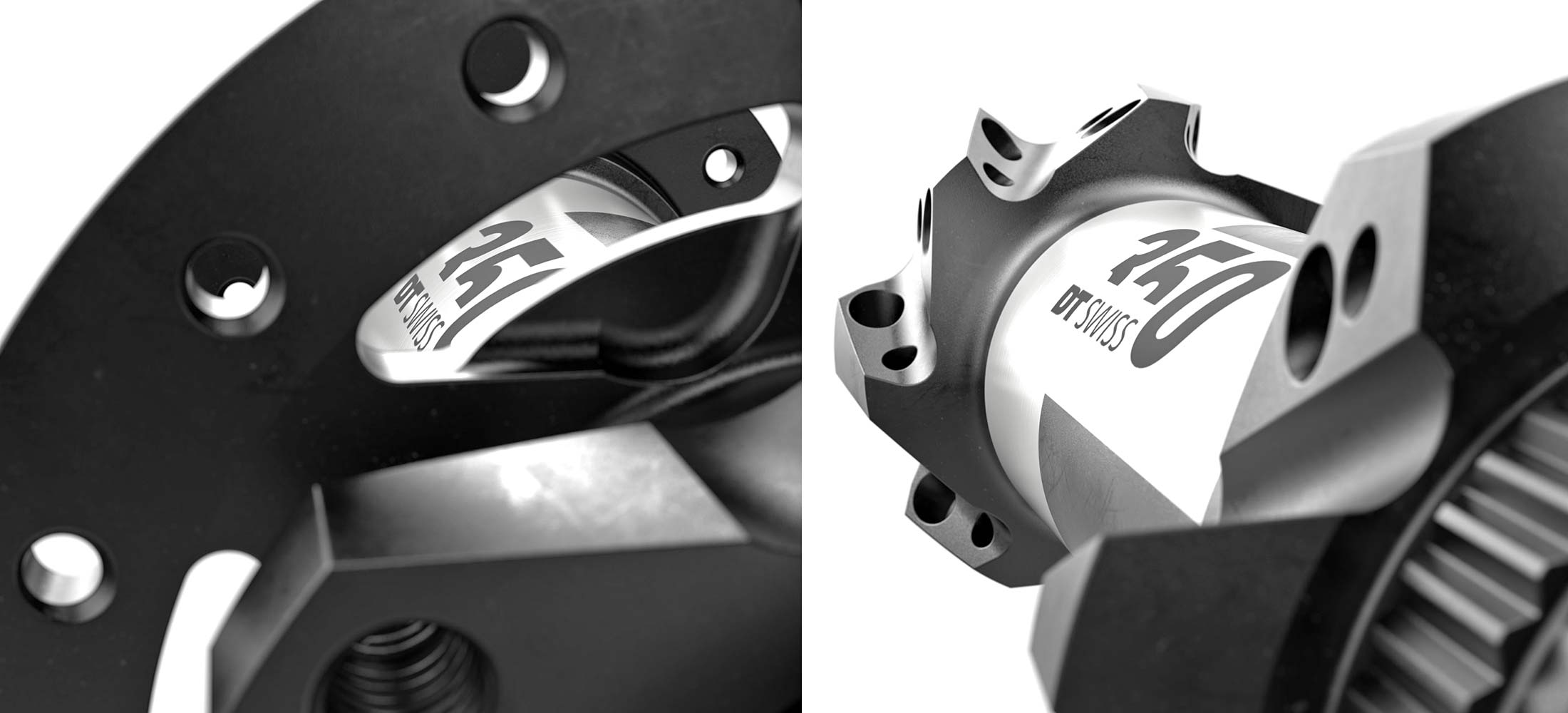 New DT Swiss 350 MTB hubs, lighter faster still affordable 36T Star Ratchet, new machining
