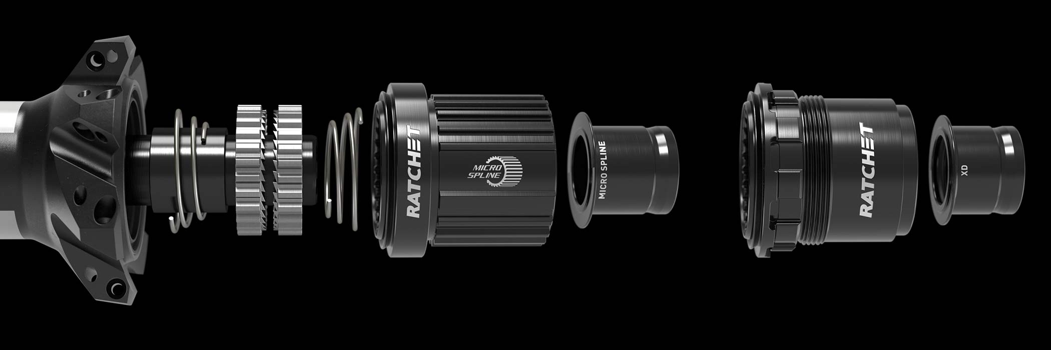 New DT Swiss 350 MTB hubs, lighter faster still affordable 36T Star Ratchet, tool-free swaps