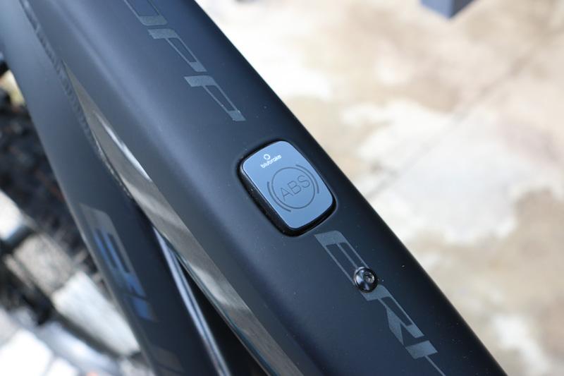 Blubrake e-bike ABS system, HMI display unit