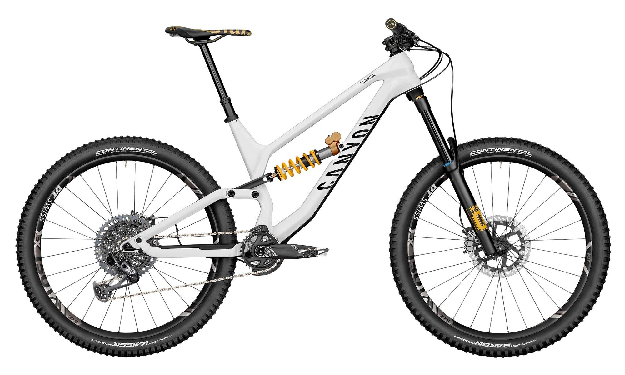 Canyon Torque CF Fabio Wibmer Signature Edition limited pro carbon freeride enduro bike,complete