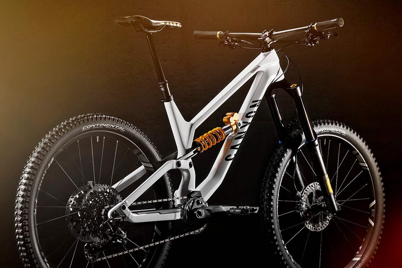 Canyon Torque CF Fabio Wibmer Signature Edition limited pro carbon freeride enduro bike,angled rear