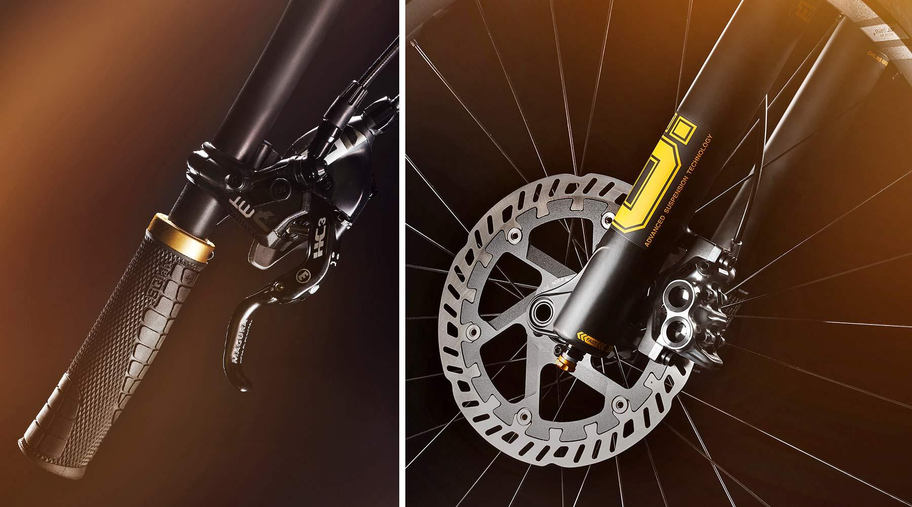 Canyon Torque CF Fabio Wibmer Signature Edition limited pro carbon freeride enduro bike,Magura details
