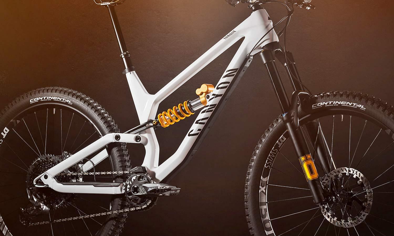Canyon Torque CF Fabio Wibmer Signature Edition limited pro carbon freeride enduro bike,angled frameset