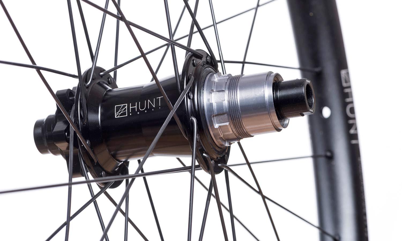 Hunt Enduro Wide v2 front & rear-specific alloy mountain bike wheels, rear hub