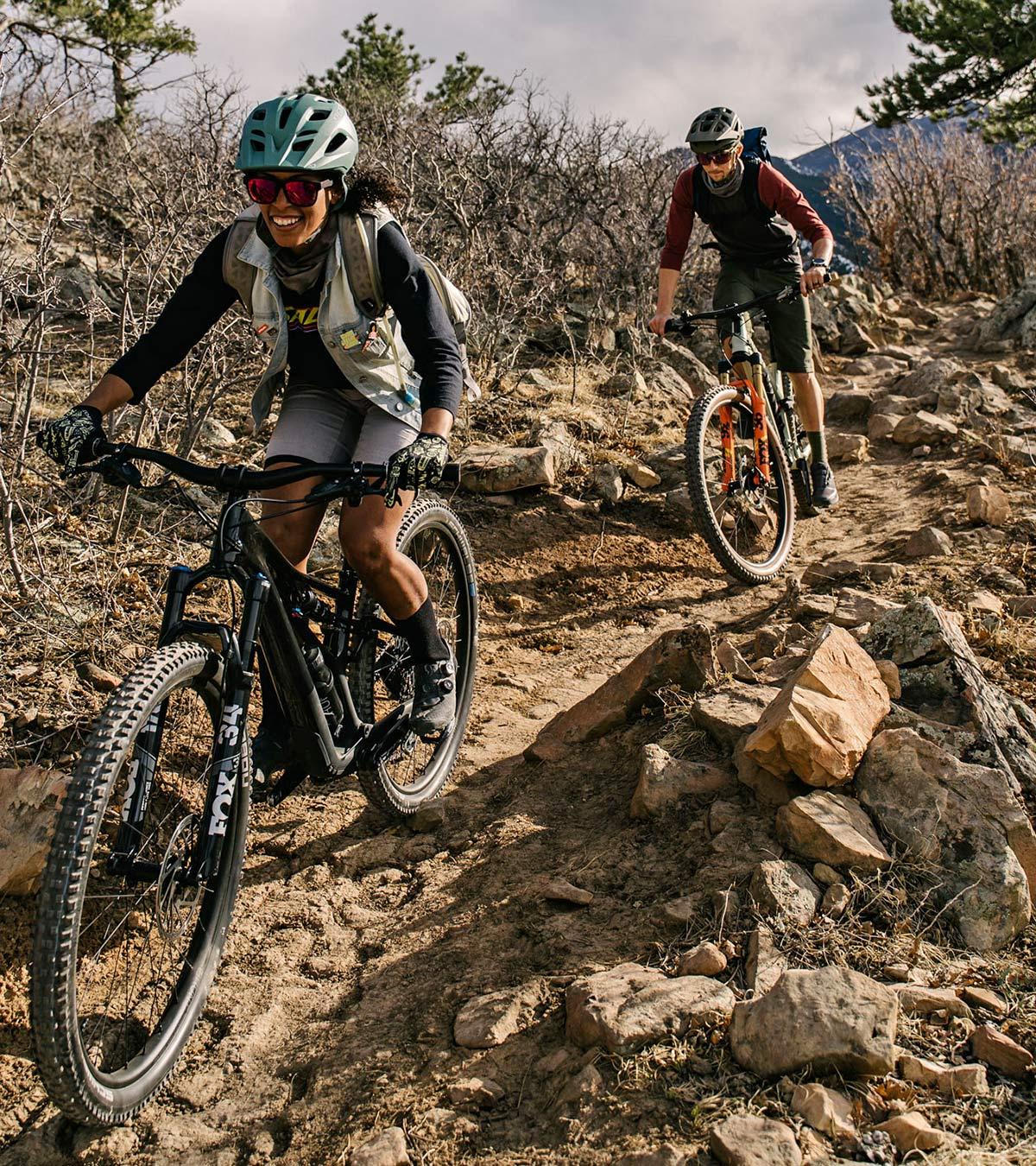 Hunt Trail Wide v2 versatile alloy mountain bike wheels, riding