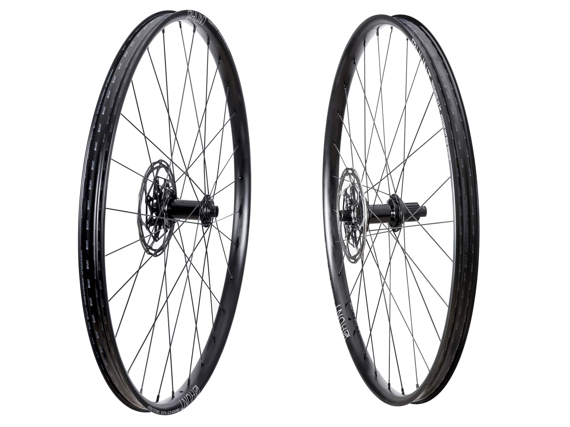 Hunt Trail Wide v2 versatile alloy mountain bike wheels set