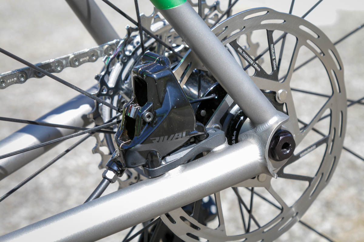 SRAM Rival eTap AXS wireless drivetrain rear brake