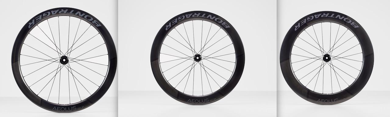 Bontrager Aeolus RSL road wheels rim depths