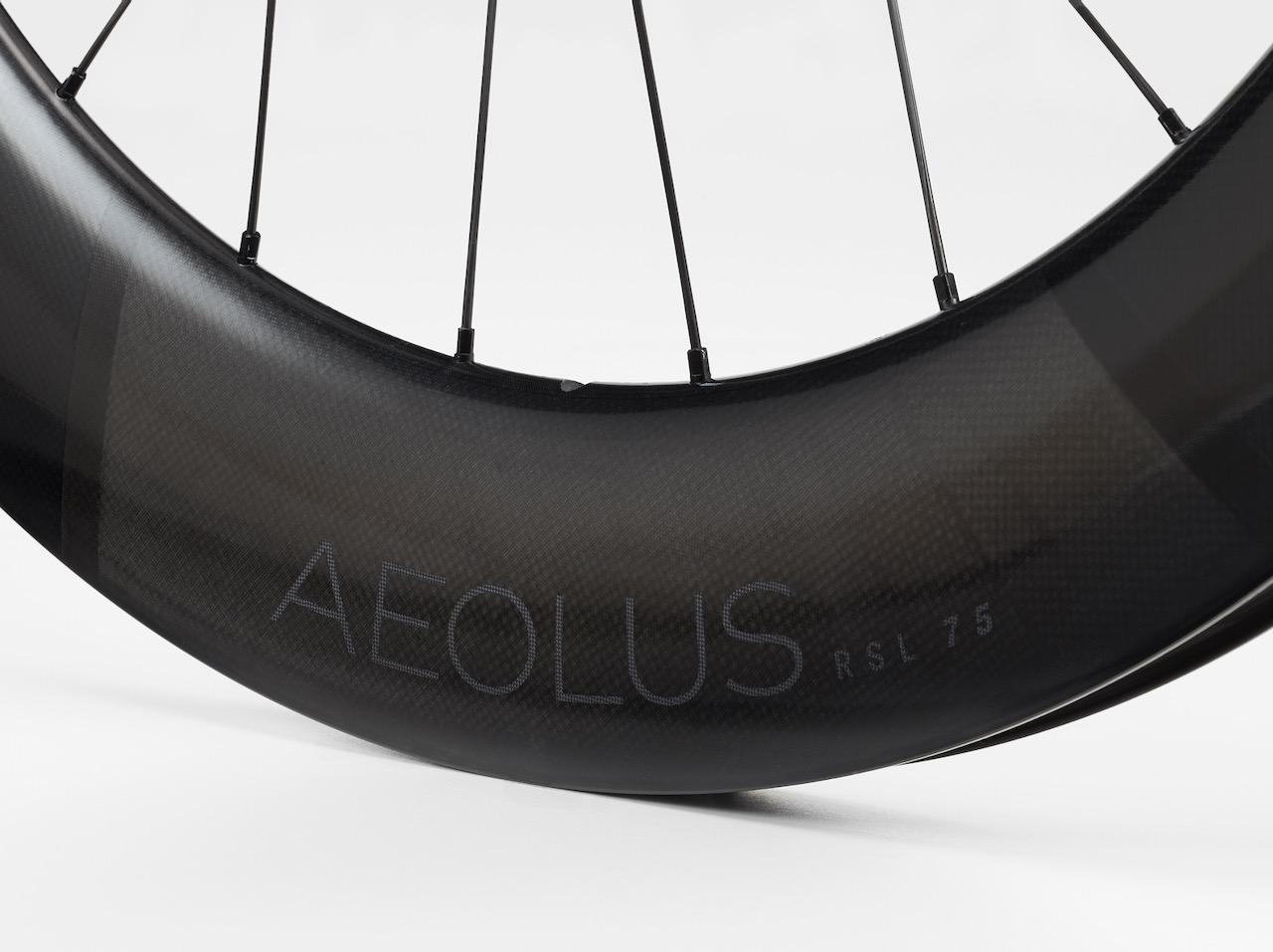 Bontrager Aeolus pro road wheels rsl 75 rim