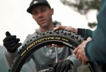 Pirelli Scorpion Gravity Racing prototype EWS, DH-ready mountain bike tires, photos by Julien Pradas
