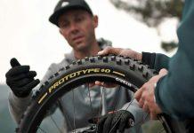 Pirelli Scorpion Gravity Racing prototype EWS, DH-ready mountain bike tires, photos by Julien Pradas