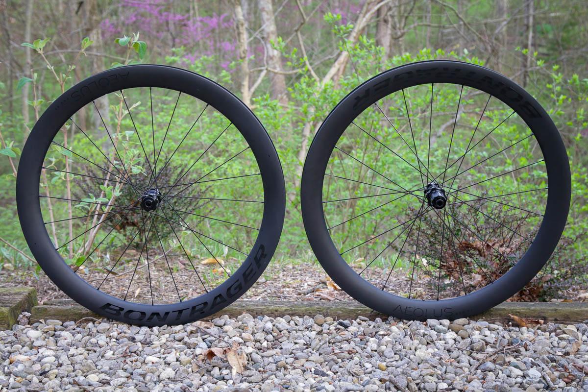 Bontrager Aeolus pro road wheels