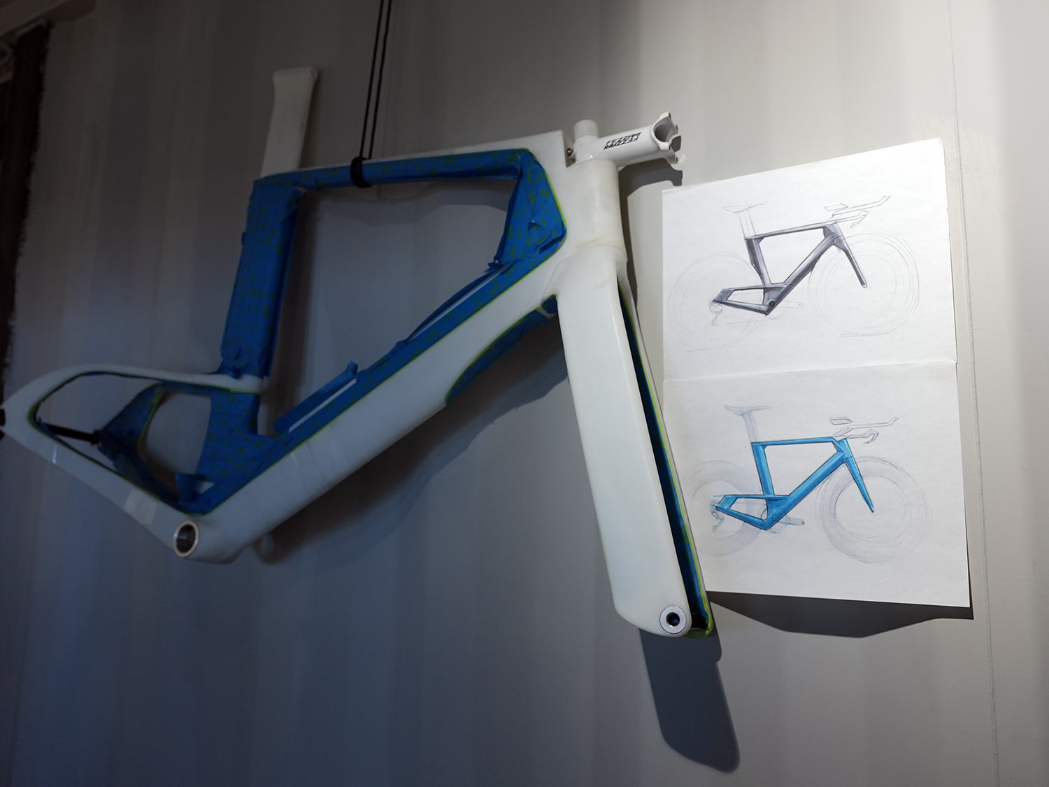 fezzari headquarters tour of 3d printed bicycle frames