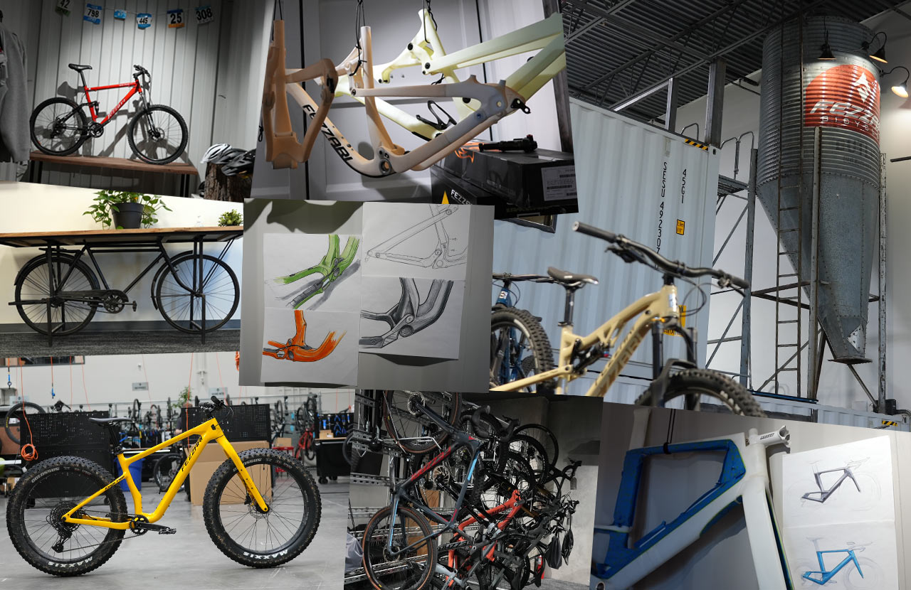 Fezzari HQ Tour - Prototypes, concept drawings, assembly stations & more! - Bikerumor