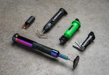 oneup components edc v2 threadless carrier multitool steerer storage