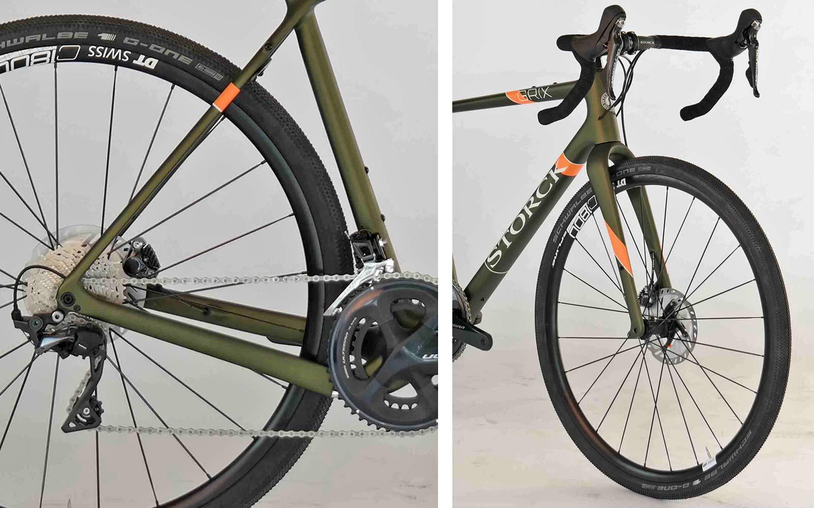 Storck GRIX Pro gravel bike, SRAM Rival eTap AXS Wide update,details