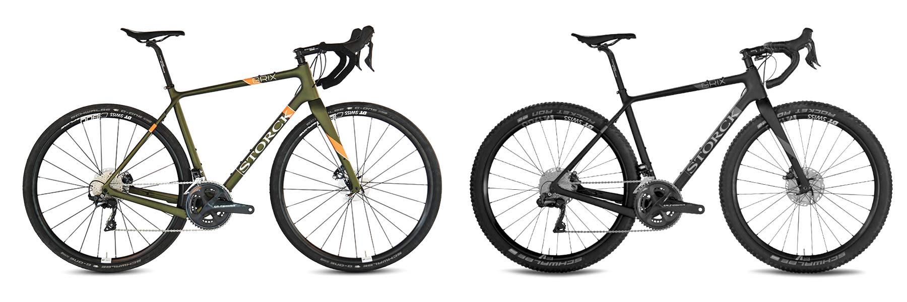 Storck GRIX Pro gravel bike, SRAM Rival eTap AXS Wide update,Pro or Platinum