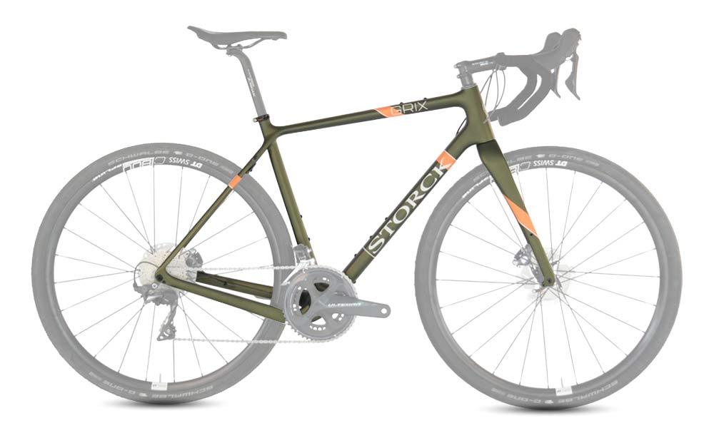 Storck GRIX Pro gravel bike, SRAM Rival eTap AXS Wide update,frameset