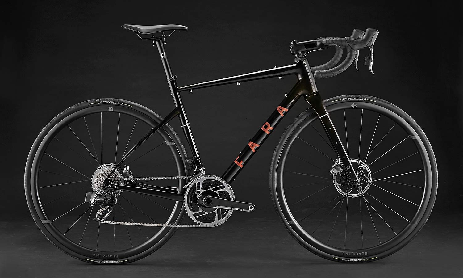 2021 Fara F-AR all-road bike ltd Signature Edition, carbon endurance gravel road bike with integrated bikepacking bags, no bags