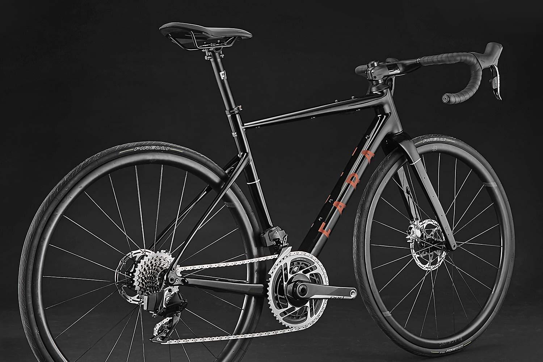 2021 Fara F-AR all-road bike ltd Signature Edition, carbon endurance gravel road bike with integrated bikepacking bags,angled
