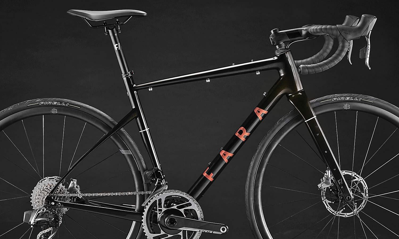 2021 Fara F-AR all-road bike ltd Signature Edition, carbon endurance gravel road bike with integrated bikepacking bags,Fidlock detail