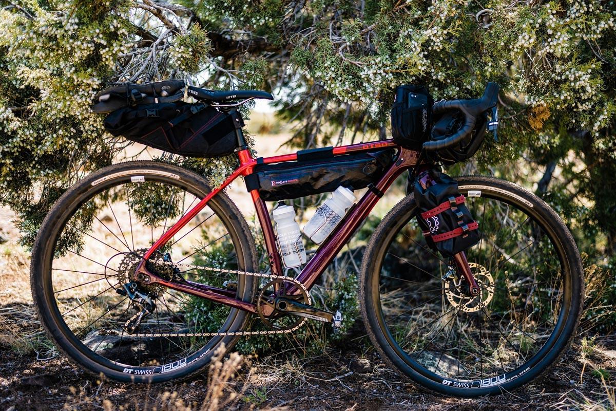Otso Waheela Carbon gravel bike bikepacking rig