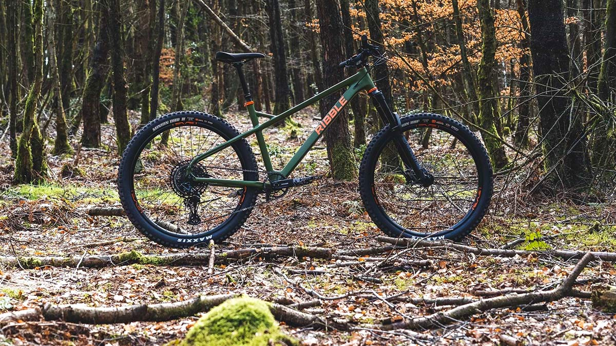 Ribble HT Trail AL 29 all-rounder hardtail 130mm fork mountain bike,forest