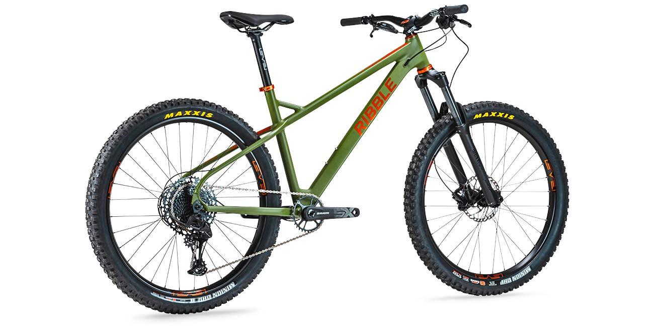 Ribble HT AL 275 enduro hardtail 150mm fork mountain bike, complete