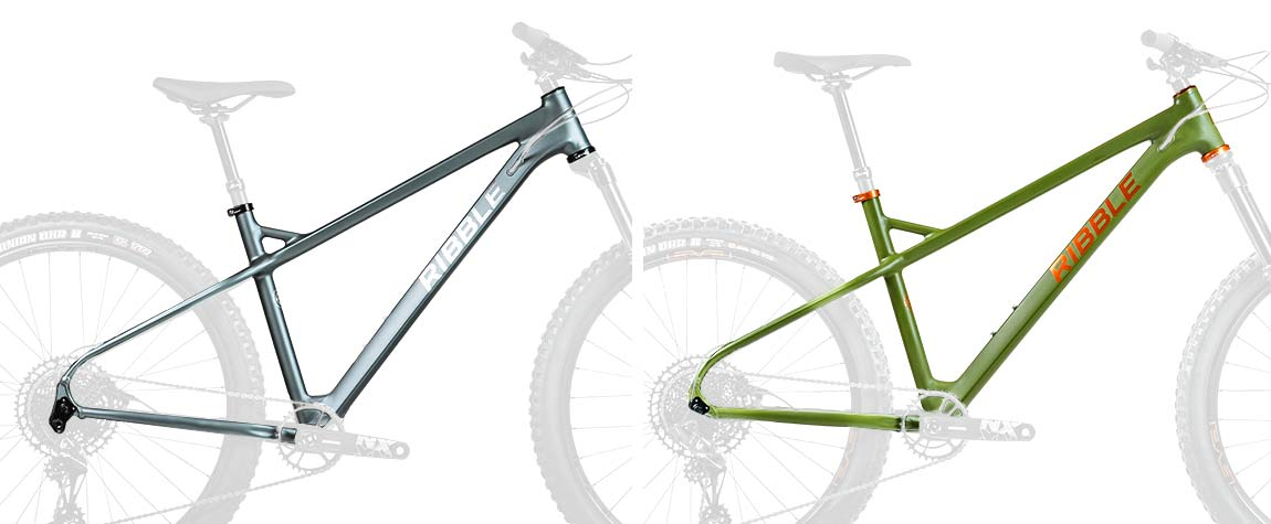 Ribble HT Trail AL 29er & 27.5 affordable alloy hardtail mountain bikes,framesets
