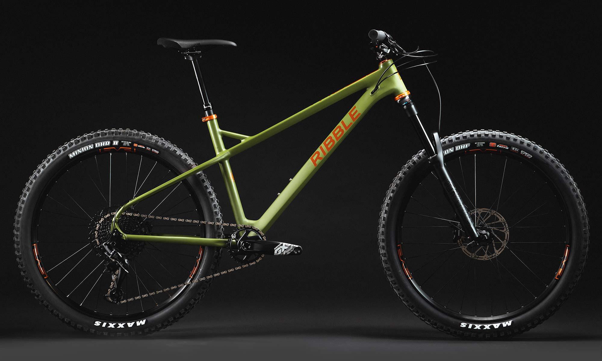 Ribble HT AL 27.5 enduro hardtail 150mm fork mountain bike,complete