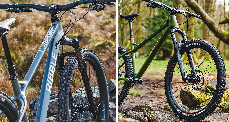 Ribble HT Trail AL 29er & 27.5 affordable alloy hardtail mountain bikes