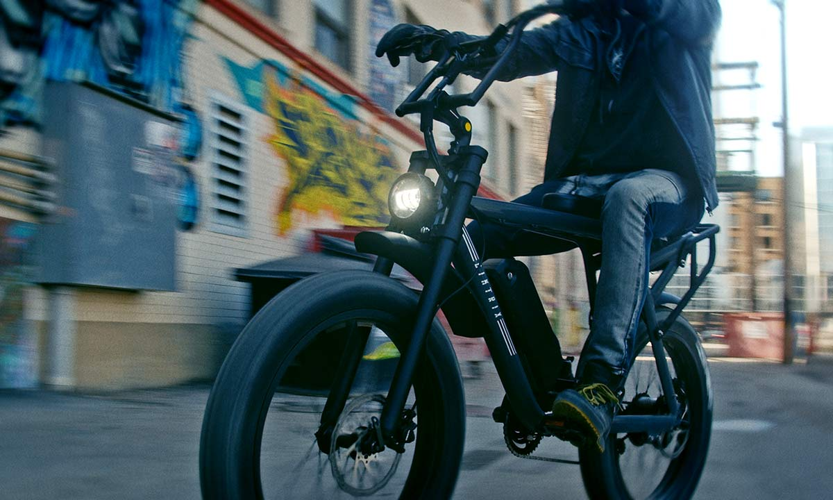 Biktrix Moto e-bike, urban mobility eMTB e-moped alternative transportation, cruiser