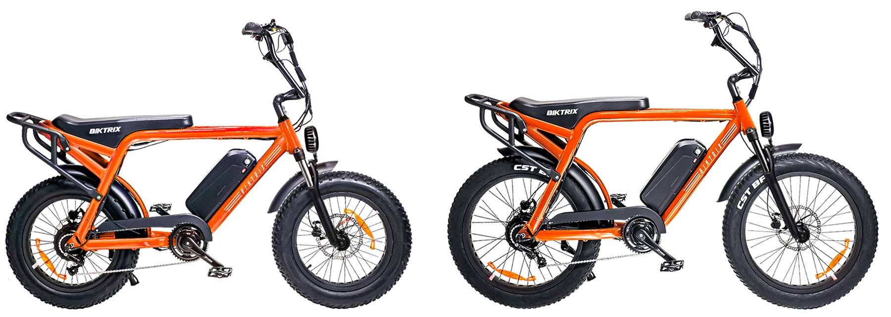 Biktrix Moto e-bike, urban mobility eMTB e-moped alternative transportation, sizes
