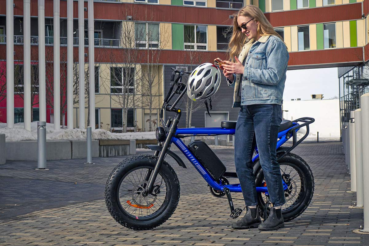 Biktrix Moto e-bike, urban mobility eMTB e-moped alternative transportation, urban mobility